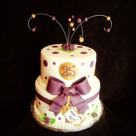 35th birthday cake topper 35th 25 best ideas about 35th birthday cakes on