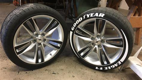 tire sticker install year eagle f1