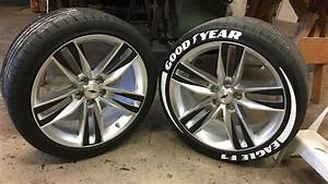 tire sticker install good year eagle f1 youtube With goodyear red letter tires