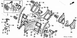 Honda Motorcycle 2005 Oem Parts Diagram For Shelter