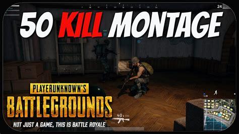 kill montage playerunknowns battlegrounds pubg