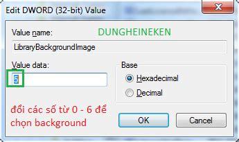 thay đổi background cho windows media player 12 dungheineken