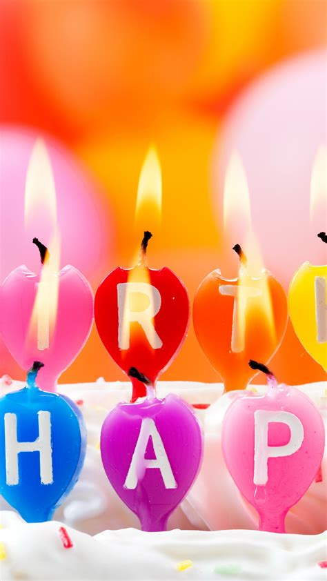 wallpaper happy birthday candles fire holiday