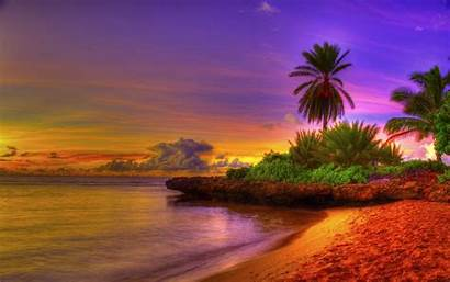 Tropical Desktop Beach Wallpapers Cave Wallpapertag