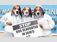 PETA Protests Depiction of Animal Cruelty in Jojo's