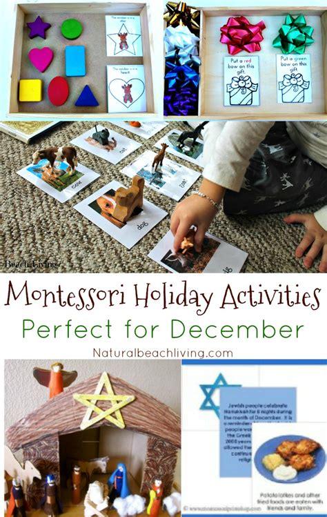 montessori holiday activities perfect  december