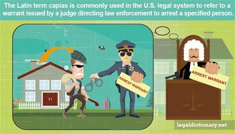 Arrest Warrant Vs Bench Warrant by Capias Definition Examples Cases Processes
