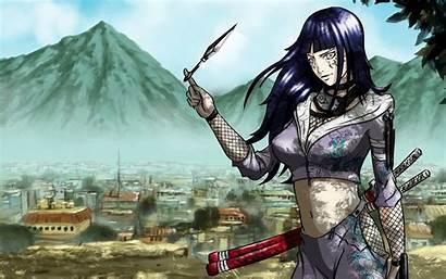 Konoha Hinata Hyuuga Wallpapers Desktop Backgrounds Artwork