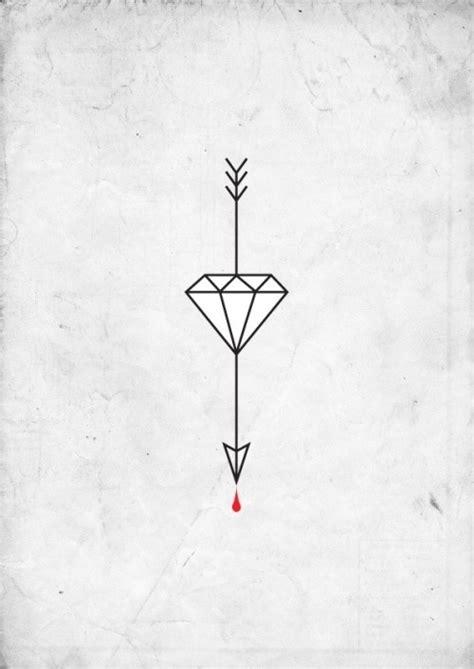diamond tattoo on Tumblr