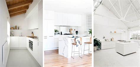 ideas  decorar cocinas blancas de distintos estilos