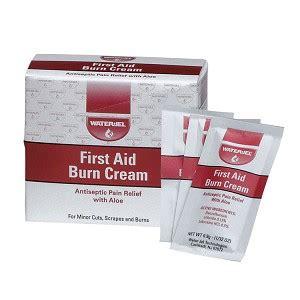 aid burn cream box