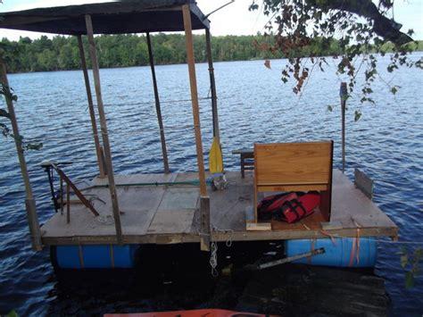 Boat Canopy Homemade by Homemade Pontoon Boat