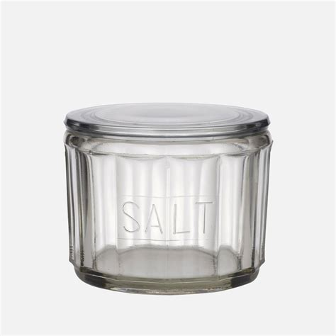 home goods salt l hemingway glass salt jar academy home goods academy home