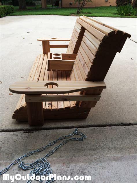 diy wood porch swing myoutdoorplans  woodworking