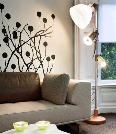living room wall decals adding character to your interiors with wall decals