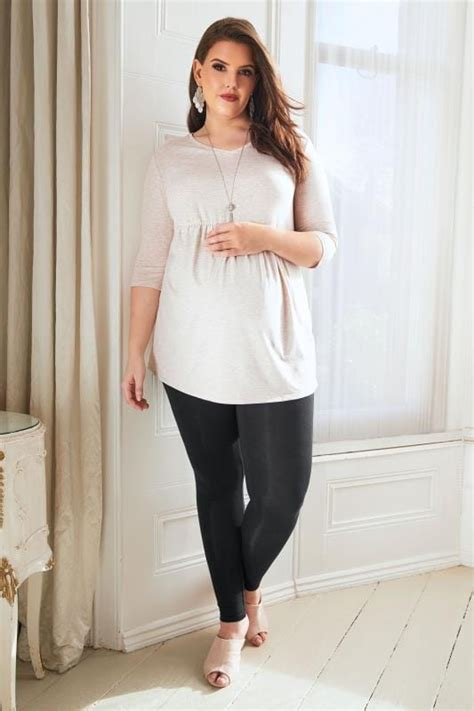 Bump It Up Maternity Oatmeal Ruched Waist Longline Top