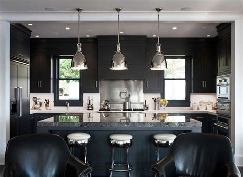 kitchen ideas with black cabinets 30 projects with kitchen cabinets home 8120