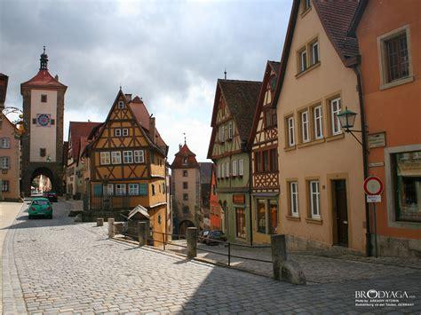 rothenburg ob der tauber beautiful town travel  tourism