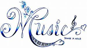 """Music"" Tattoo Design by Denise A. Wells ..."
