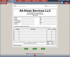 carpet cleaning invoice driverlayer search engine With how to create an invoice in word 2010