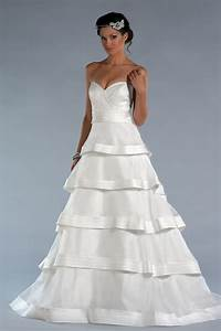 sweetheart tiered bridal dress with bowknot on sale With tiered wedding dress