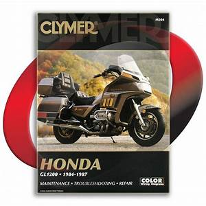1984 Honda Gl1200 Gold Wing Repair Manual Clymer M504
