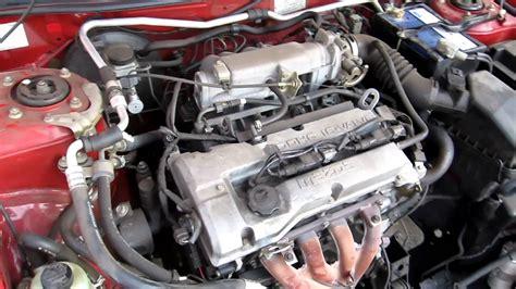 1998 Mazda Astina 323 Bj 1.6l 4cyl Engine Running