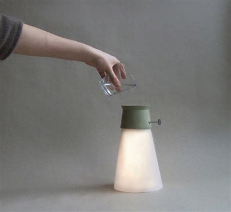 Wat - A Lamp Powered by Water