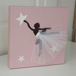 Cadre Chambre Fille : cadre danseuse tutu fuchsia c arte de voeux ~ Nature-et-papiers.com Idées de Décoration