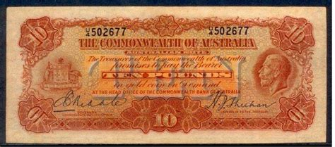 pre decimal notes bank notes aussie buy australian