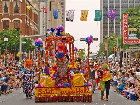 Parade Float Decorations In San Antonio by San Antonio Photos San Antonio Vacation
