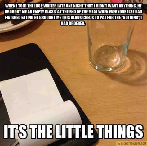 Funny Waitress Memes - a waiter with a sense of humor
