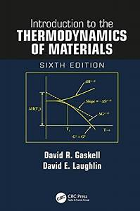 Introduction To The Thermodynamics Of Materials Sixth