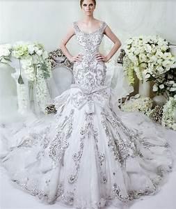 mermaid-wedding-dress-with-diamonds-and-crystals | Elite ...