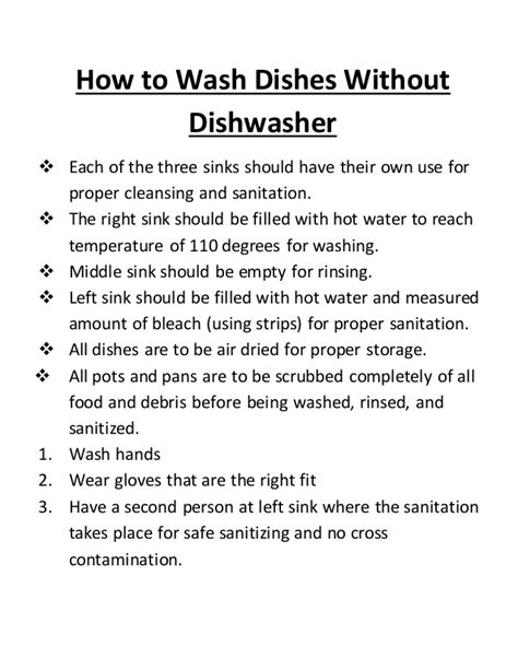 Steps On How To Wash Dishes Without Dishwasher