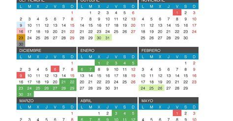 calendario escolar castilla leon