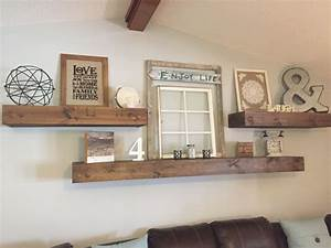 Rustic, Wood, Floating, Shelves, Shelf, Ideas, Decorative, Shelving, Regarding, Decorative, Shelves, Ideas