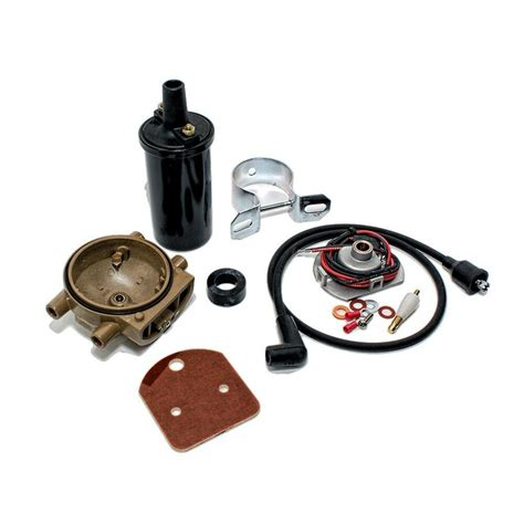 Ford 8n Coil Wiring by Ignitor Ignition Coil Relocation Kit Ford 8n 2n 9n