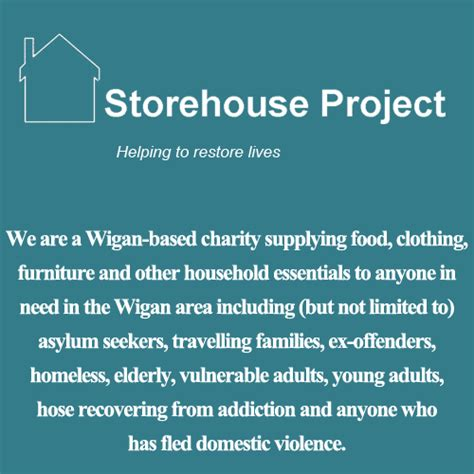 2020 Christmas Appeal from Storehouse Project Wigan ...