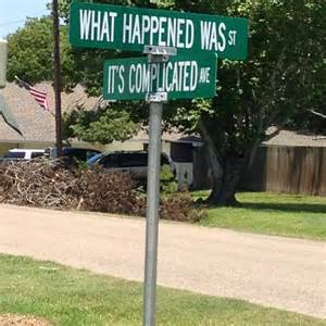 Funny Street Name Signs