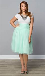 Plus Size Skirts - Twirling in Tulle Skirt - Kiyonna