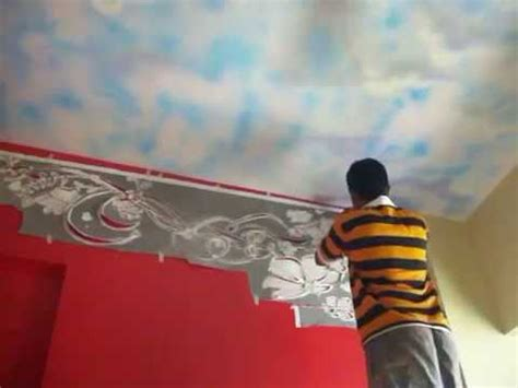 Wall Painting Stencils Youtube Hyderabad Wall Painting Stencils Fabulous Wall Stencils Stencil Designs Youtube