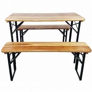 Tisch 110 X 70 : bierzeltgarnitur sets 110 cm tisch 2 b nke auflagenset tino 3 tlg garten outdoor ~ Bigdaddyawards.com Haus und Dekorationen