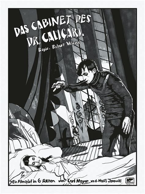 Das Cabinet Des Dr Caligari by Das Cabinet Des Dr Caligari 411posters