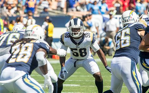 rams defeat chargers   straight win los angeles
