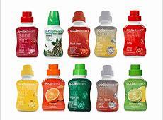 We Try Every SodaStream Soda Syrup Flavor Taste Test