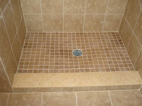 Tiled Shower Pan - bathroom exciting tile ready shower pan for bathroom