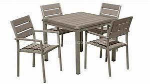 Table Et Chaise Jardin : salon jardin chaises table exterieur accueil design et mobilier ~ Teatrodelosmanantiales.com Idées de Décoration