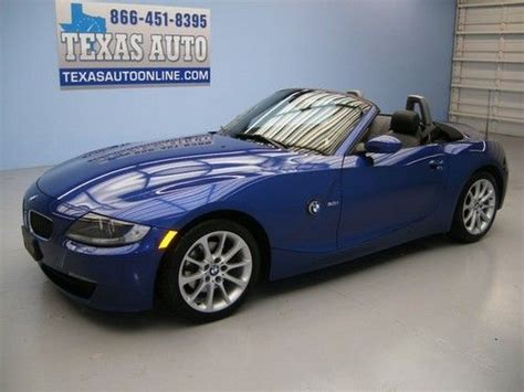 Sell Used We Finance!!! 2006 Bmw Z4 30i Convertible Hard