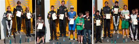 jugend kart slalom automobil club h 246 xter e v im adac